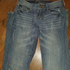 Delia's Distressed Jeans Sz 0R